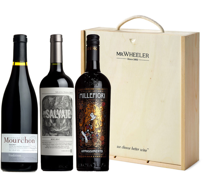 Best-Selling Red Wine Gift Box