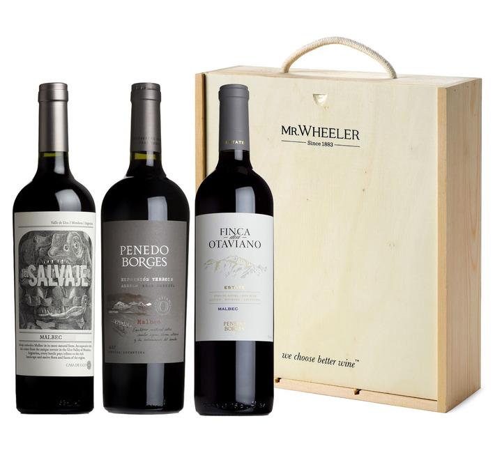 Malbec Trio Wine Gift Box