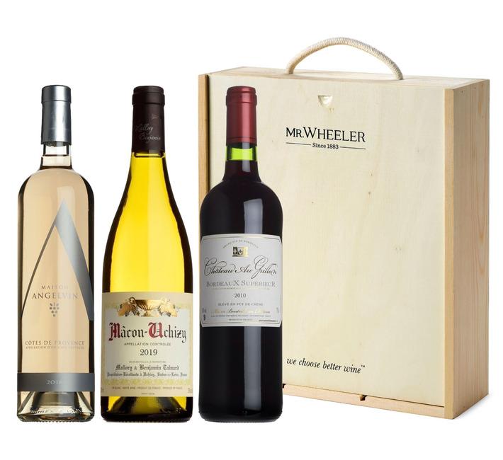 Classic Trio Wine Gift Box