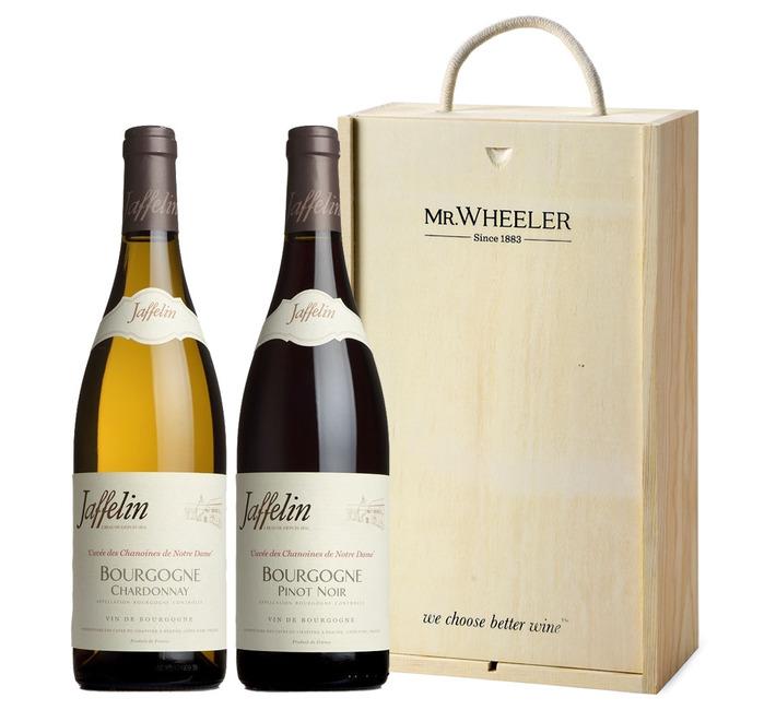 Burgundy Duo Wine Gift Box