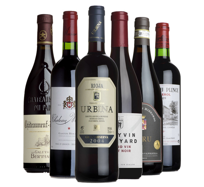 Fine Festive Reds Mixed Case