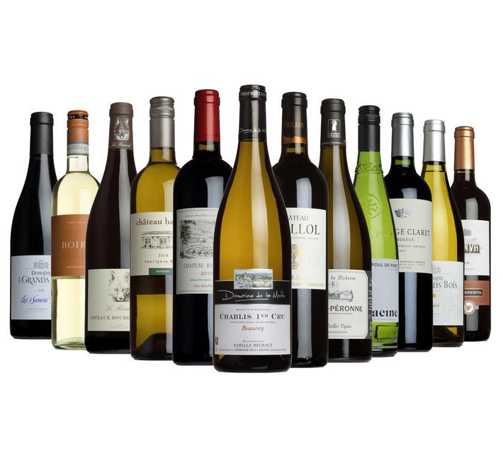 The Wine List Mixed Dozen Case