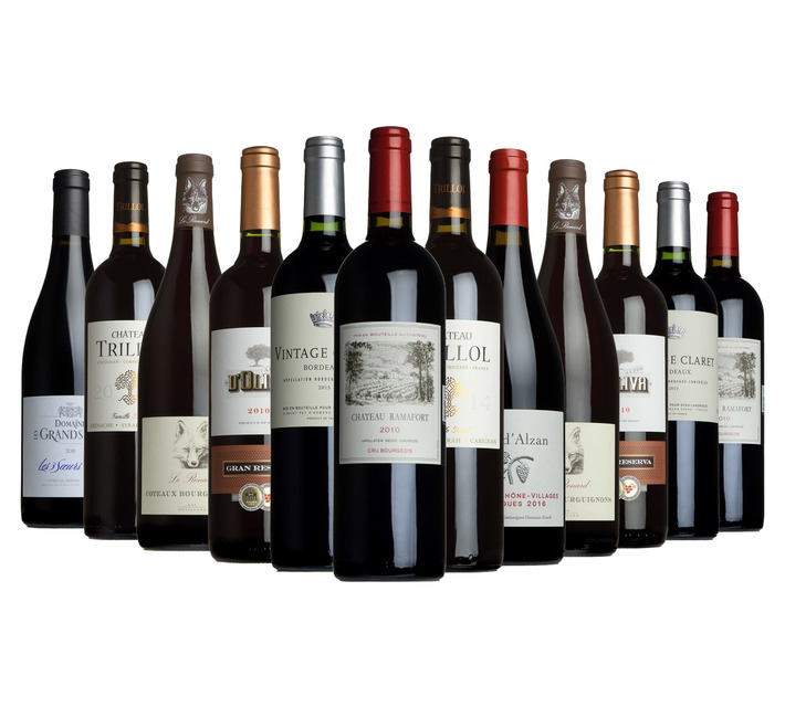 The Wine List All Reds Case