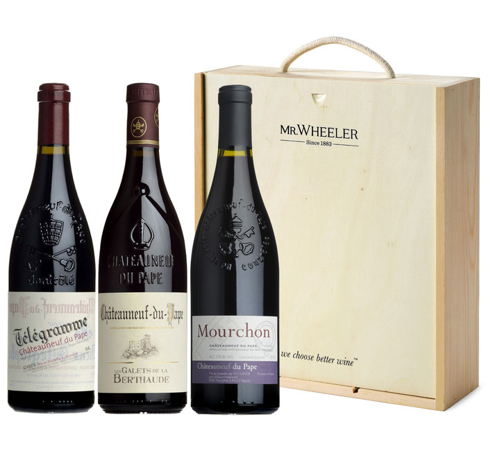 Spectator Châteauneuf-du-Pape Selection (3 bottles in gift box)