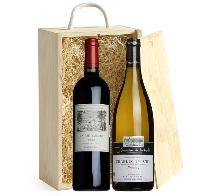 Chablis & Claret Duo Gift Box