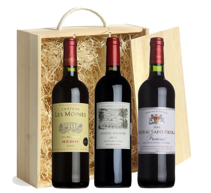 2010 Clarets Wine Gift Trio