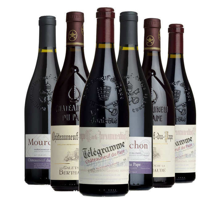 Spectator Châteauneuf-du-Pape Selection (6 bottles in card box)