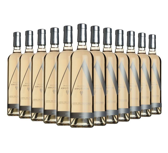 2018 Rosé de Provence, Selection Angelvin (12 bottles)