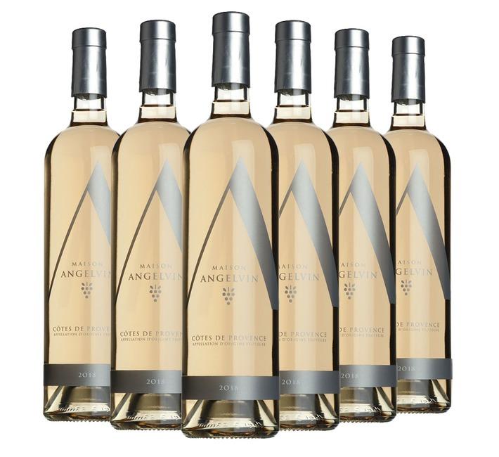 2018 Rosé de Provence, Selection Angelvin (6 bottles)