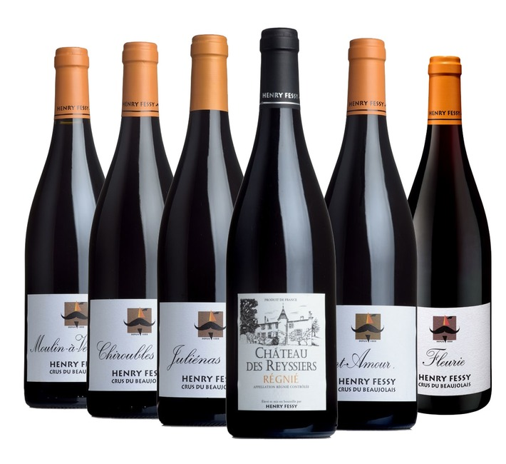 Johnny Ray's Fessy Selection (6 selected wines)