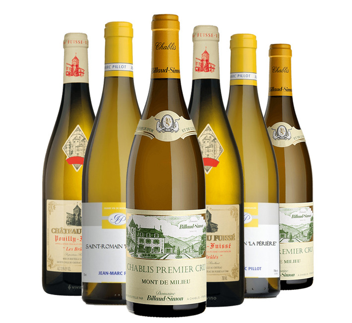 Fine White Burgundy Mixed Case