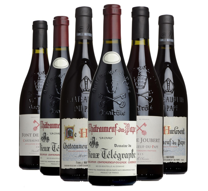 Châteauneuf-du-Pape Mixed Case