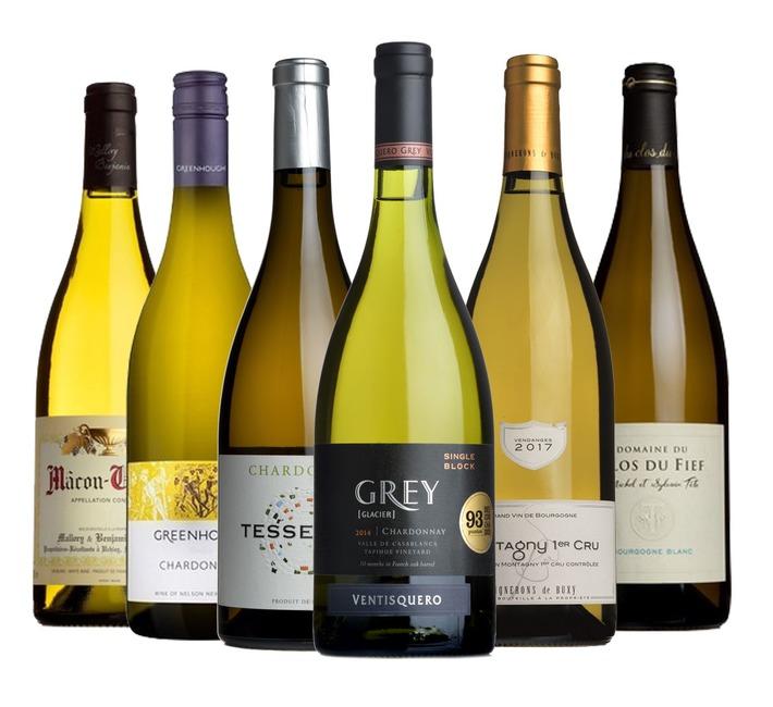 Food-Friendly Chardonnay Mixed Case