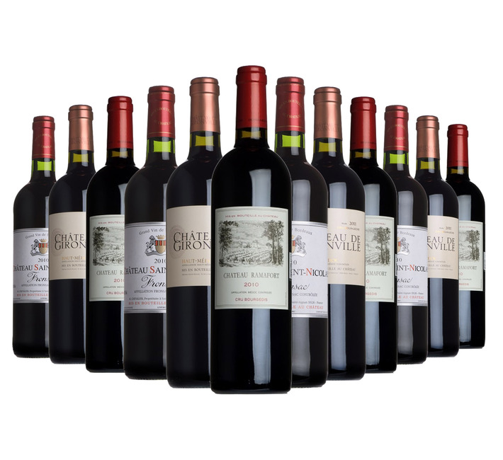 Gloriously Mature Claret Mixed Case