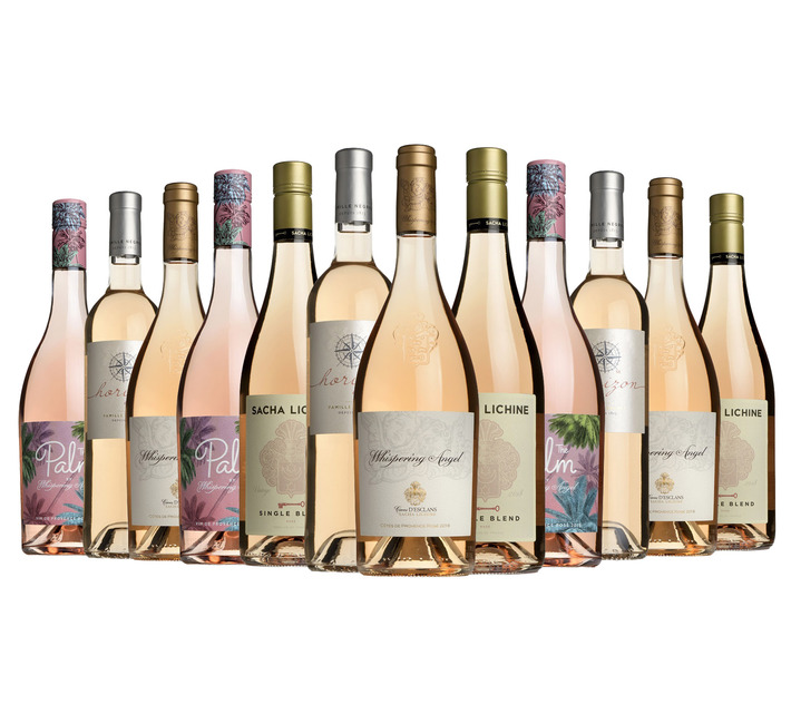 Ready to go rosé mixed case