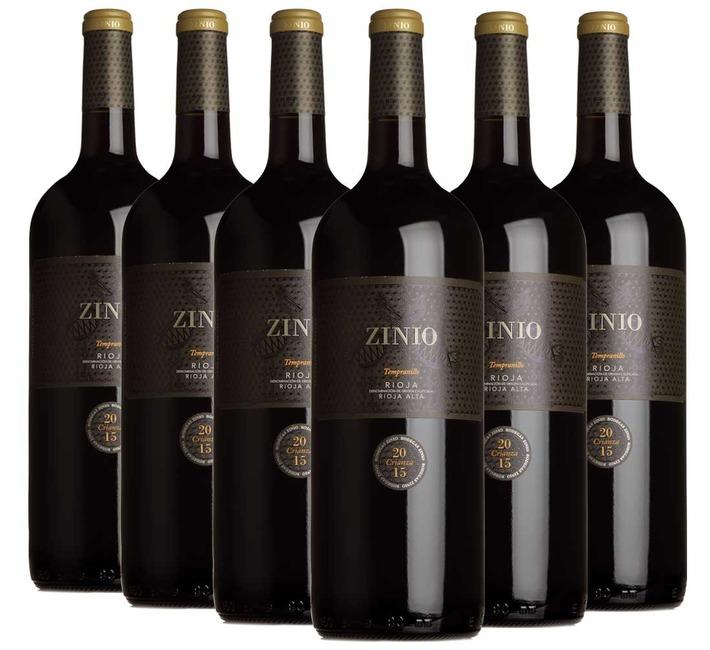 2015 Zinio Crianza Rioja, Bodegas Patrocinio (6 magnums)