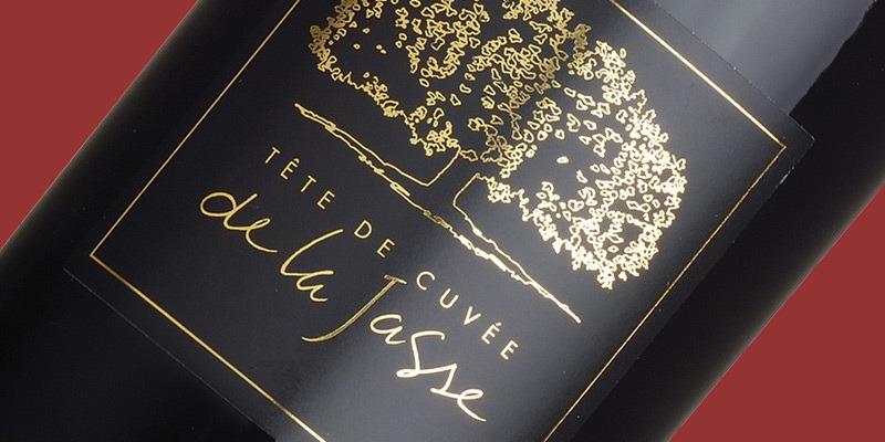 Tête de Cuvée Rouge, 'Black Label' Domaine de la Jasse 2018
