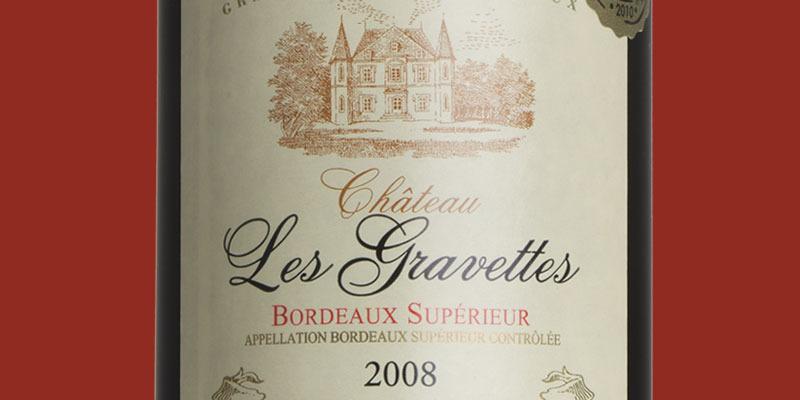 Château Les Gravettes, Bordeaux Supérieur 2008