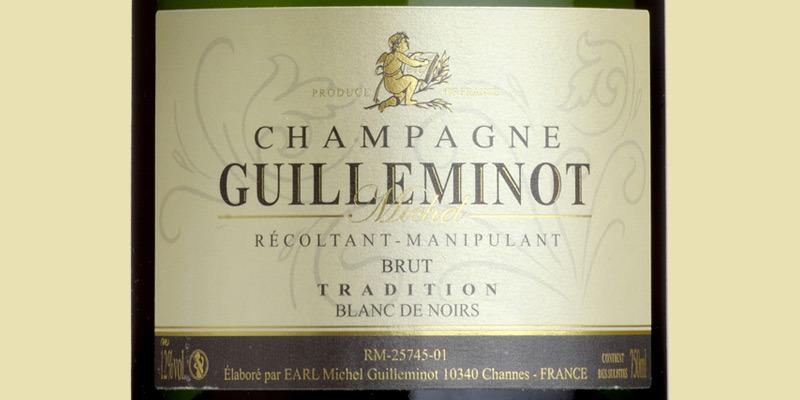 Brut Tradition 'Blanc de Noirs', Michel Guilleminot, Champagne