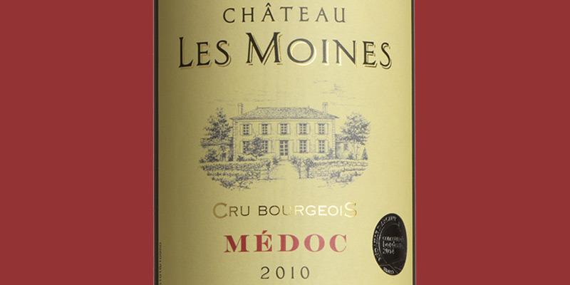 Château Les Moines, Cru Bourgeois, Médoc 2010