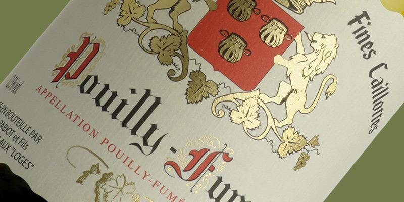 Pouilly-Fumé, Domaine Des Fines Caillottes, Jean Pabiot et Fils 2020