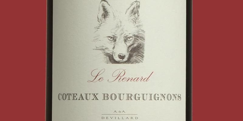 Côteaux Bourguignons, Le Renard, Domaine Devillard 2019