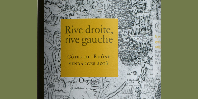 Côtes Du Rhône Blanc, Rive Droite Rive Gauche 2020