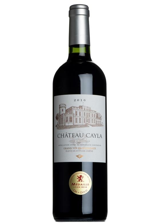 Château Cayla 2016, Cadillac, Côtes de Bordeaux