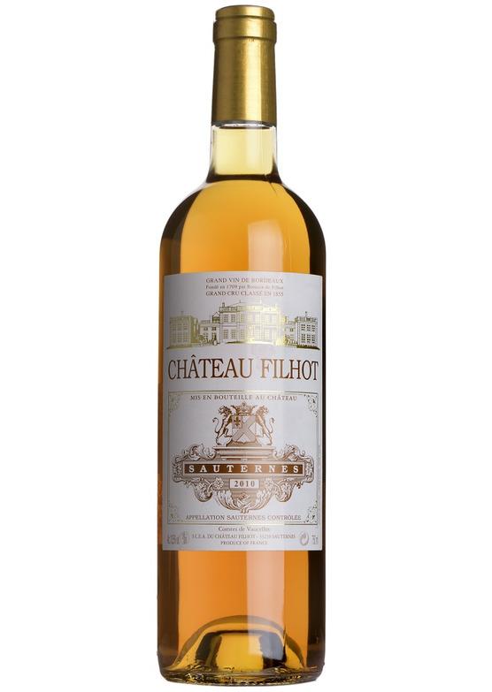2010 Château Filhot, Cru Classé Sauternes