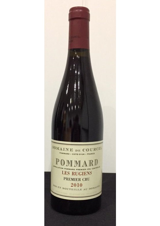 2010 Pommard 1er Cru Les Rugiens, Domaine de Courcel (Slight damage to label)