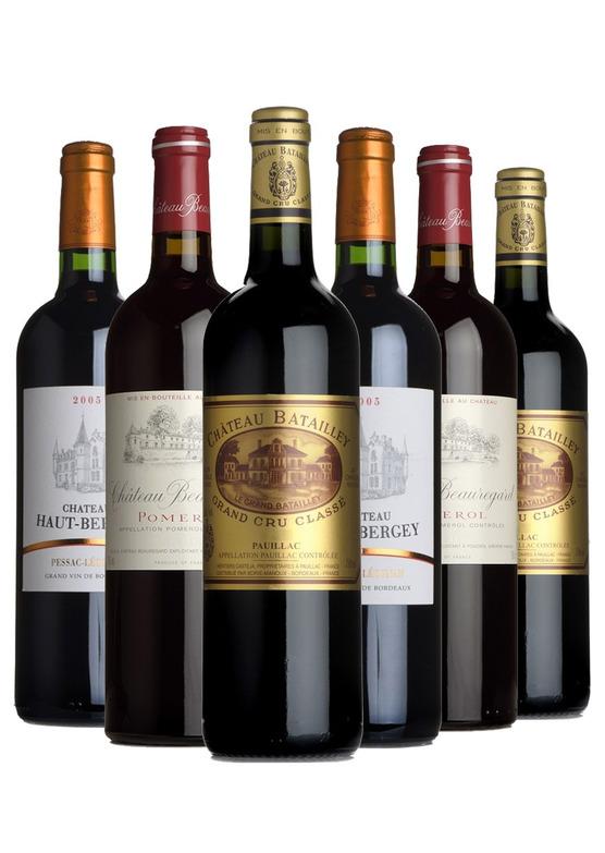 2005 Bordeaux Mixed Case