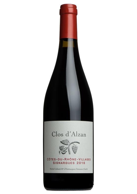 Clos d'Alzan 2016, Côtes du Rhône Villages Signargues