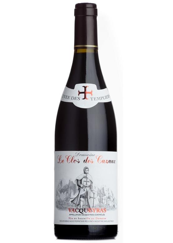 2016 Vacqueyras Cuvée des Templiers, Domaine Le Clos des Cazaux