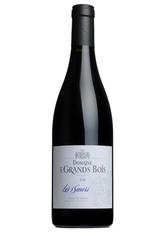 Côtes Du Rhône Cuvée Trois Soeurs, Domaine Les Grands Bois 2018