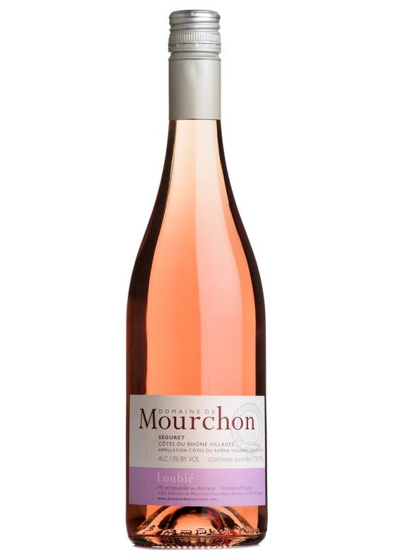 2019 Loubié Côtes du Rhône Rosé, Domaine de Mourchon, Rhône