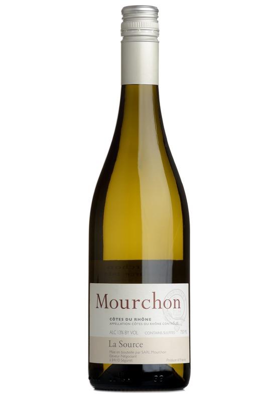 2018 Côtes du Rhône Blanc 'La Source', Domaine de Mourchon, Rhône