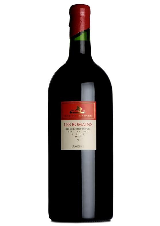 2015 Les Romains Merlot, Les Vignes des Deux Soleils, Languedoc (Double Magnum)