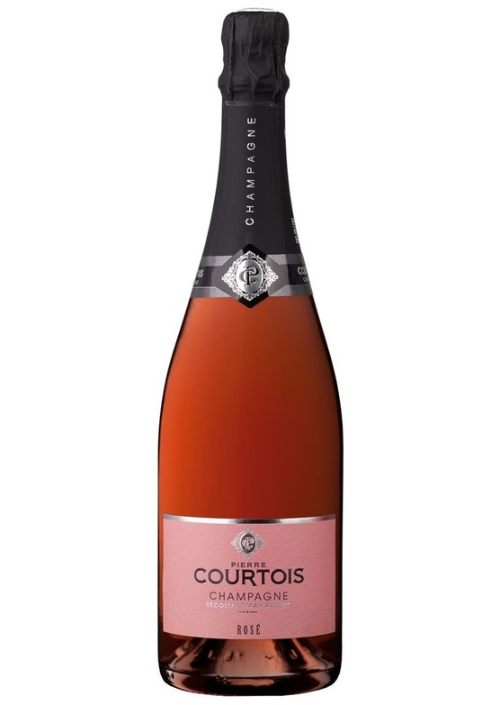 NV Champagne Pierre Courtois Rosé, Champagne, France