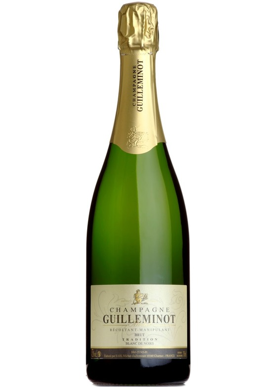 Brut Tradition 'Blanc de Noirs', Michel Guilleminot, Champagne