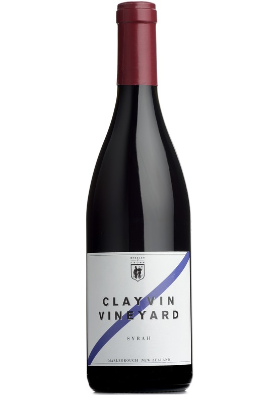 2012 Syrah 'Clayvin Vineyard', Wheeler&Fromm, Marlborough