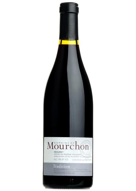 2016 Séguret Tradition, Domaine de Mourchon, Rhône