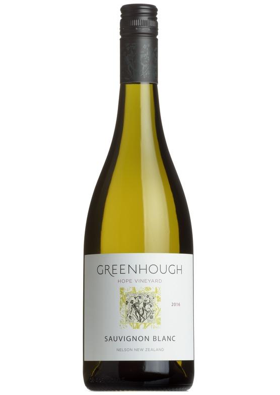 2016 Sauvignon Blanc 'Hope Vineyard', Greenhough, Nelson