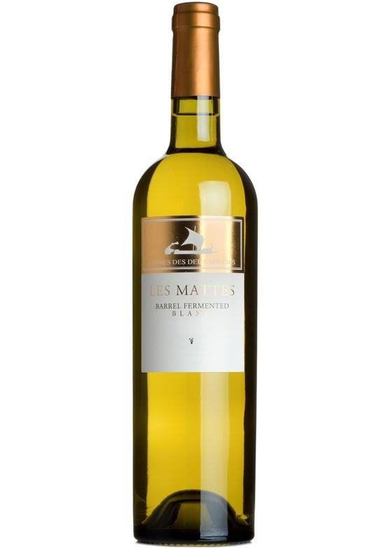 2015 Les Mattes Blanc, Vignes des Deux Soleils, Languedoc