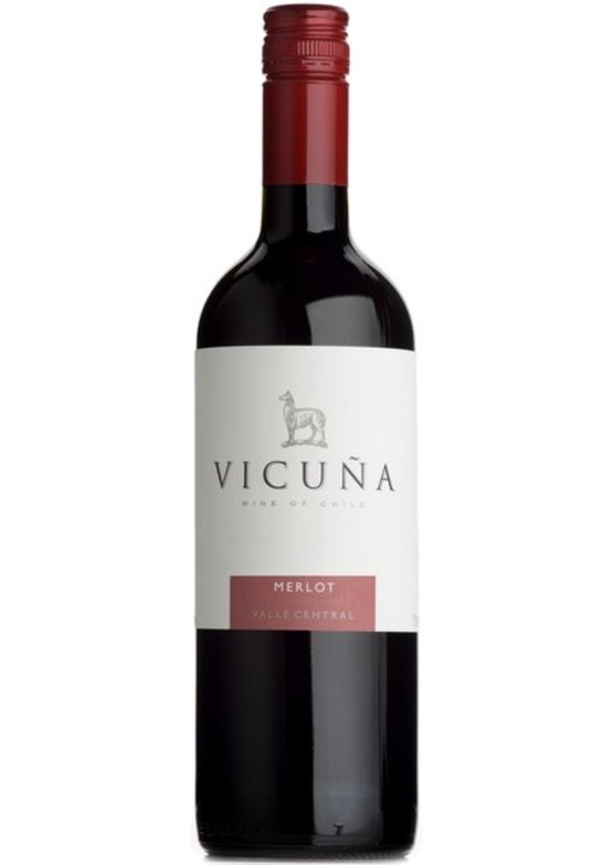 2016 Merlot, Vicuna, Central Valley