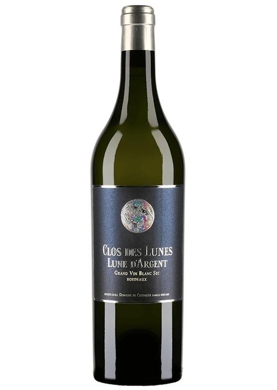 2017 Clos des Lunes, Lune d'Argent, Grand Vin Blanc Sec, Bordeaux