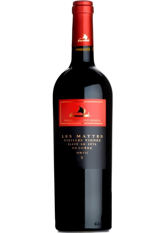 2017 Les Mattes 'Vieilles Vignes', Les Vignes des Deux Soleils