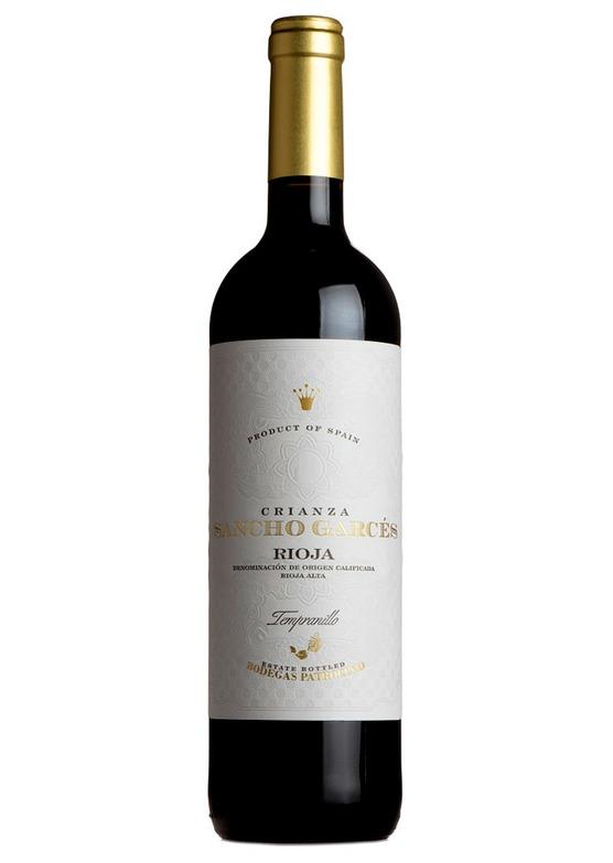 2016 Rioja Crianza, Sancho Garces, Bodegas Patrocinio