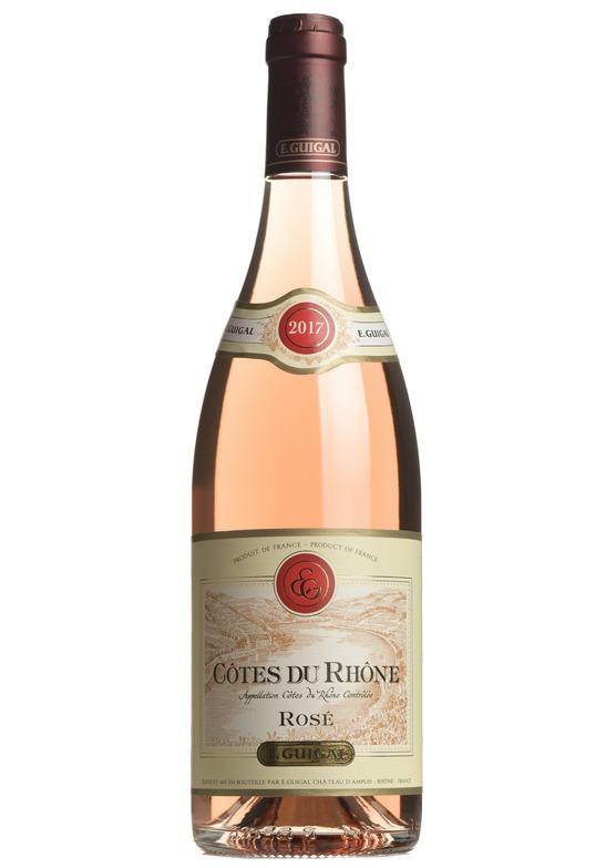 2017 Côtes du Rhône Rosé, E.Guigal