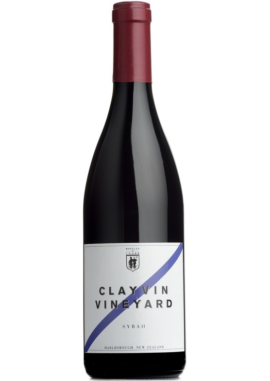 2012 Syrah, Clayvin Vineyard, Wheeler & Fromm, Marlborough