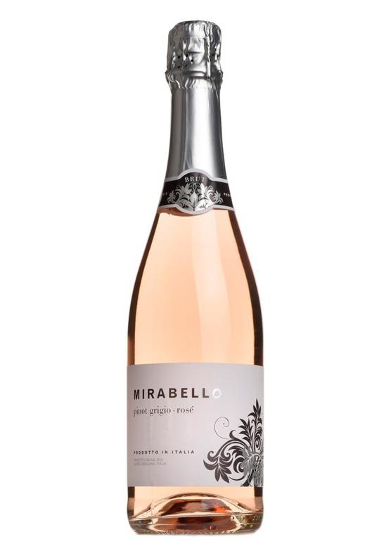 Pinot Grigio, Rosé Brut, Mirabello